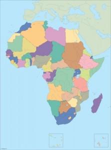 Africa city maps