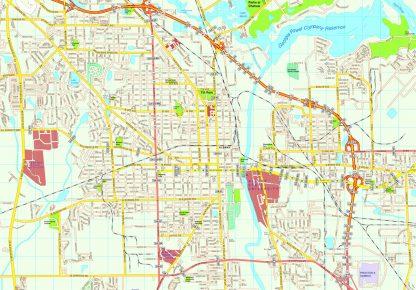 Albany map