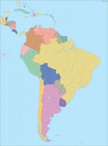 America South City maps