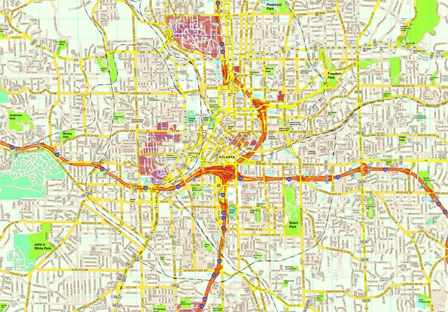 Atlanta map