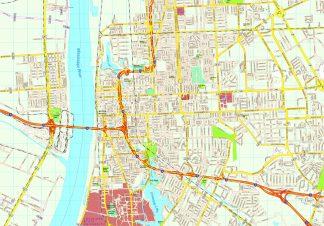 Baton Rouge map