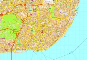 Lisboa map