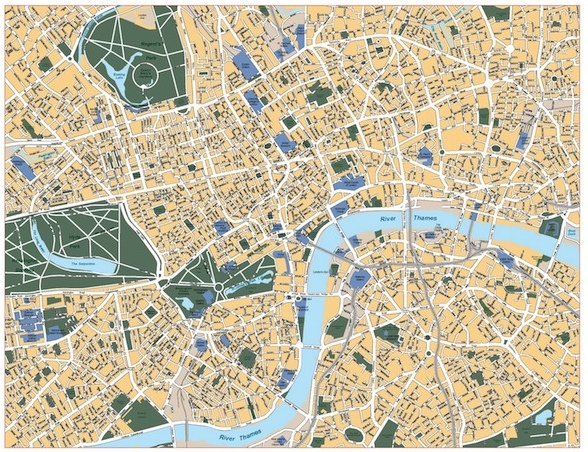 Europe City Vector Maps Eps City Maps Of Europe Street Maps Of - London map with cities