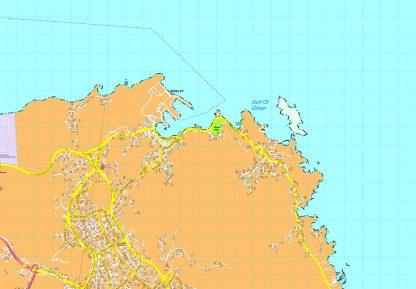 Muscat map