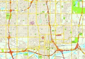 Oklahoma City map