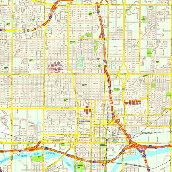 North America City Vector USA Maps Eps City Maps Of USA Street - City map of usa
