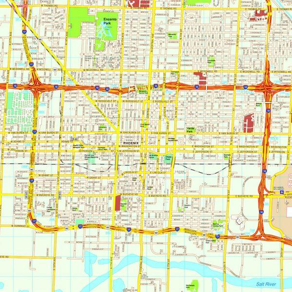 Phoenix Usa Map: Philadelphia Vector Map. Eps Illustrator Vector City Maps