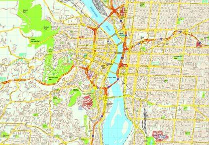 Portland map