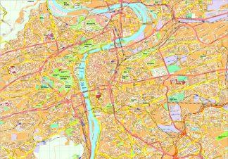 Prague map