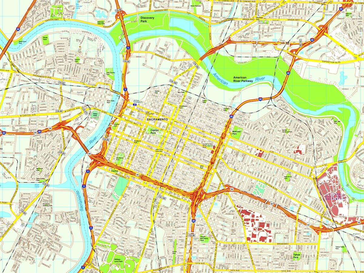 Philadelphia Vector Map Eps Illustrator Vector City Maps USA Map - United states map vector free ai
