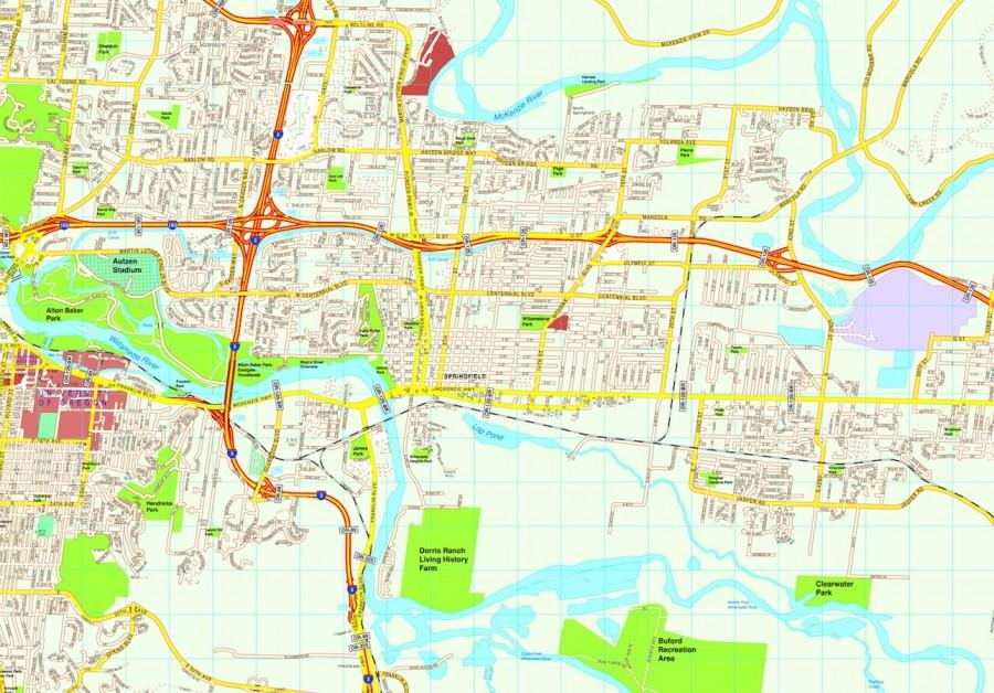 Springfield map