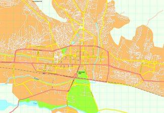 Ulan Bator map
