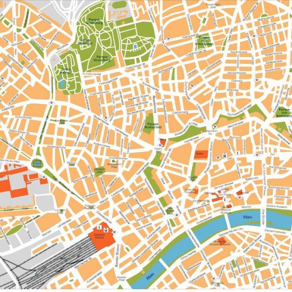 Krefeld Karte.Krefeld Karte Illustrator Eps Illustrator Map For Your Project
