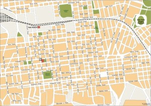 johannesburg vector map