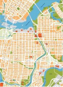 ottawa vector map