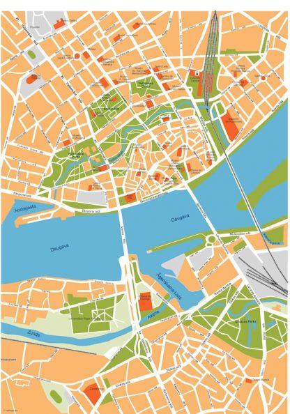 riga vector map