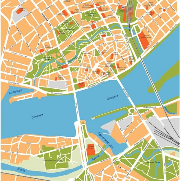 vector cartography  Vector  Wall Maps made in Barcelona from