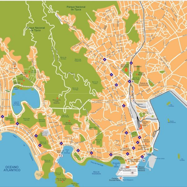 South America City vector maps eps city maps of South America