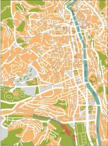 sarajevo vector map