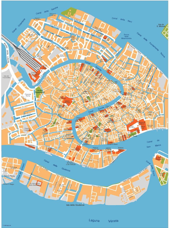 City Map Europe Vector Wall Maps From Netmaps Made In