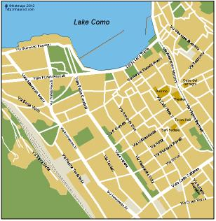 Como Vector map Eps Illustrator Map Our cartographers have made
