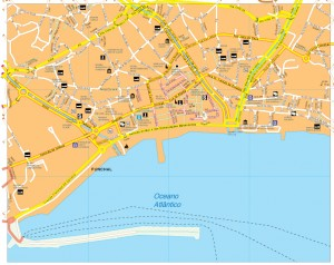 Funchal vector map