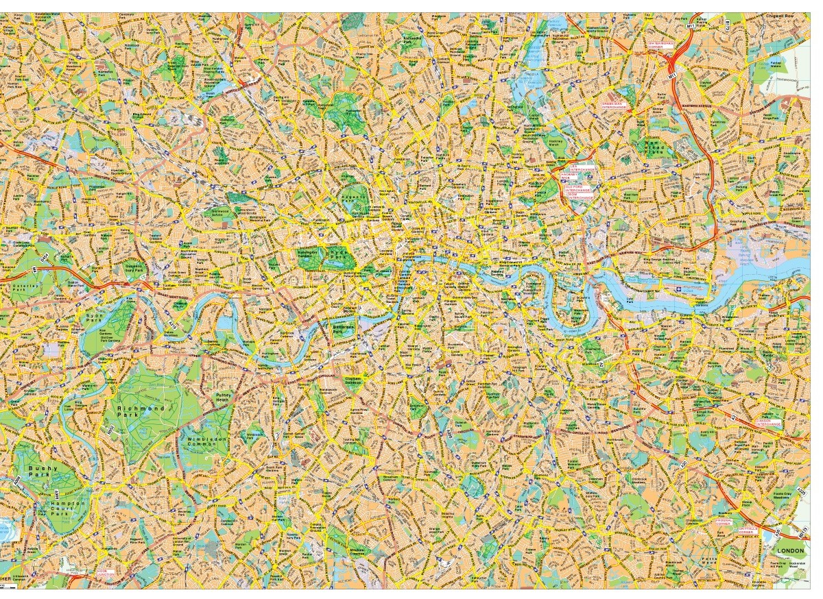 London map vector London EPS Illustrator Vector Maps Eps – London City Map