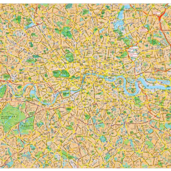 London map vector