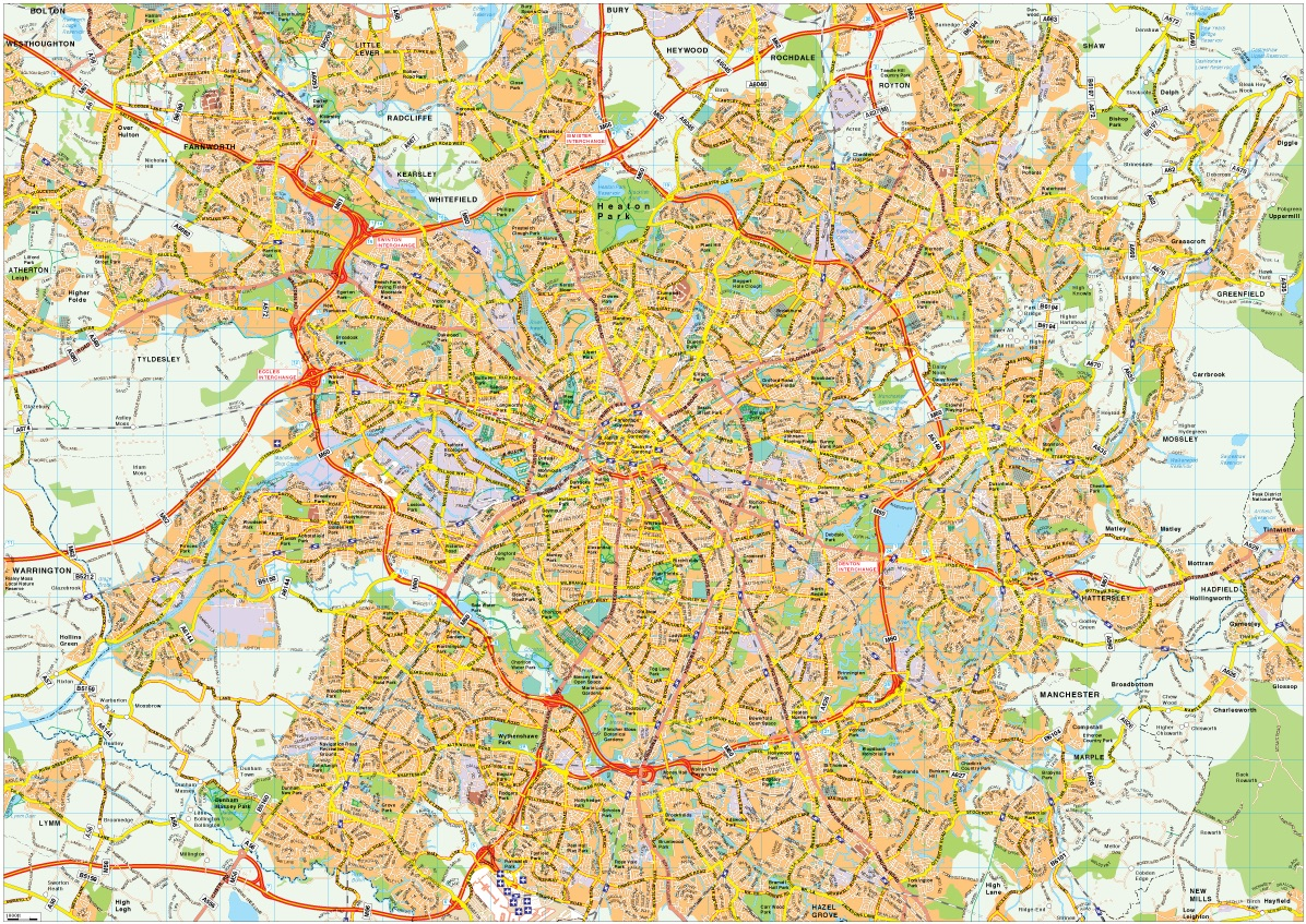 manchester map vector eps illustrator map our cartographers