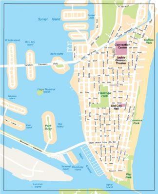 Miami city center