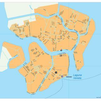 Murano vector map