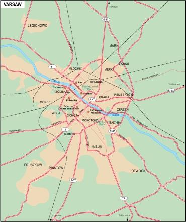 Varsaw city