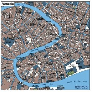 Venezia  eps map
