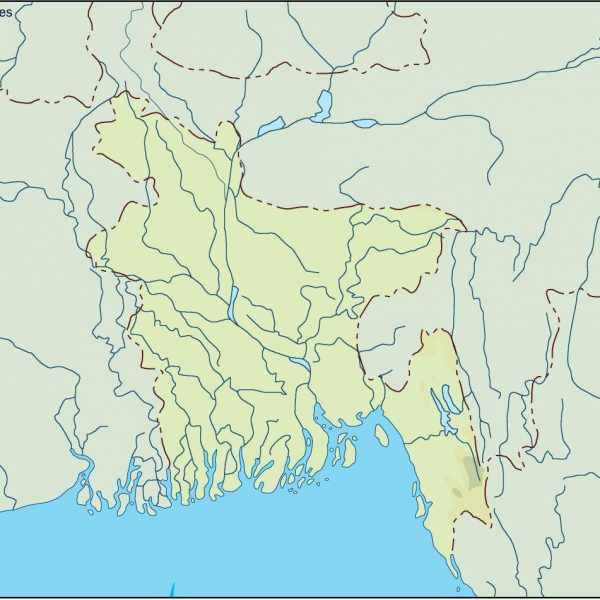 bangladesh illustrator map