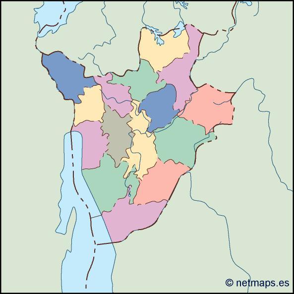 burundi blind map
