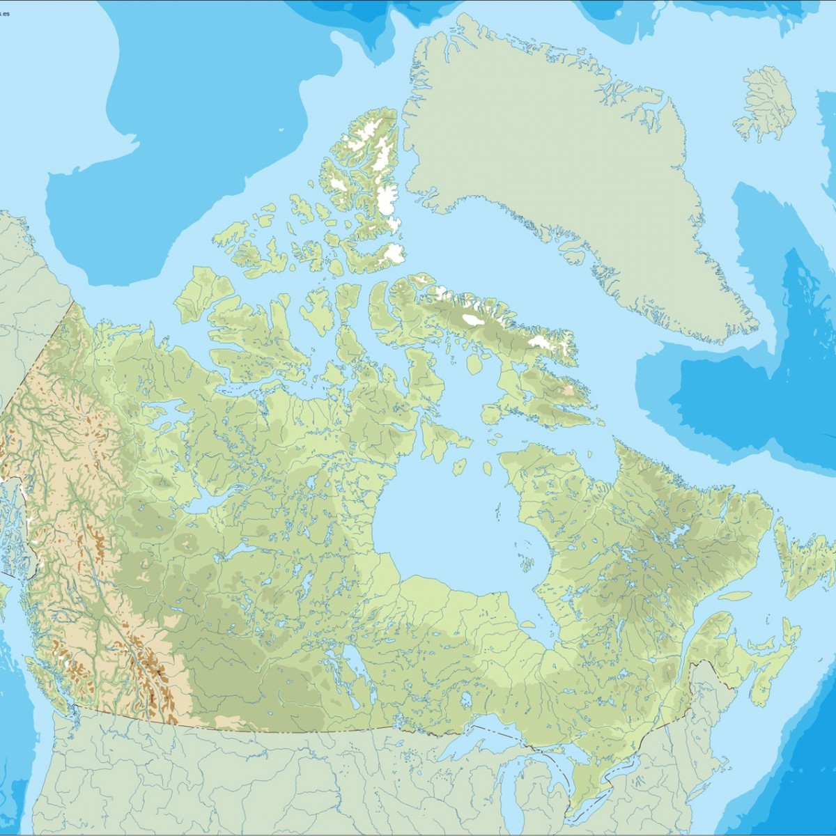 Map Of Canada Eps.Canada Illustrator Map Eps Illustrator Map