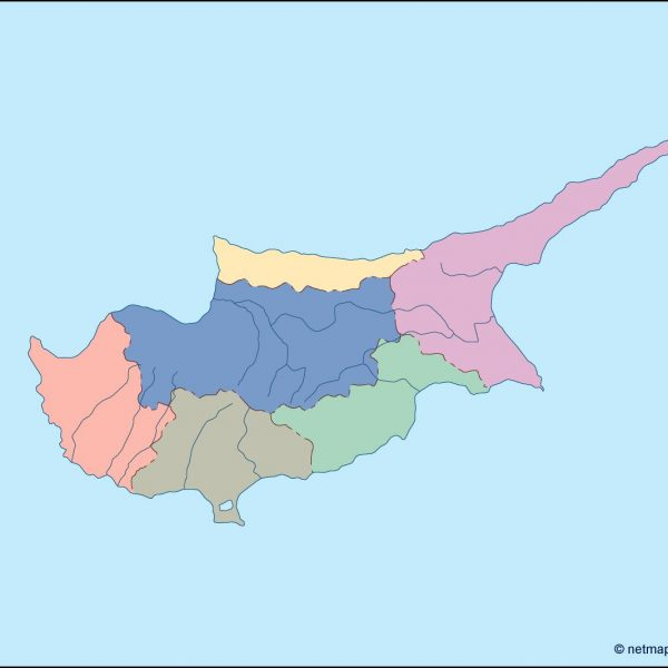 cyprus blind map
