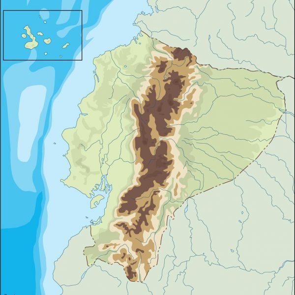 ecuador illustrator map
