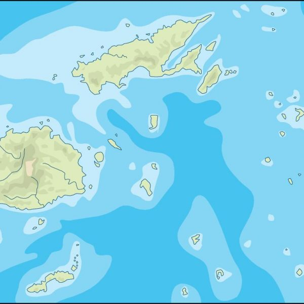 fiji illustrator map