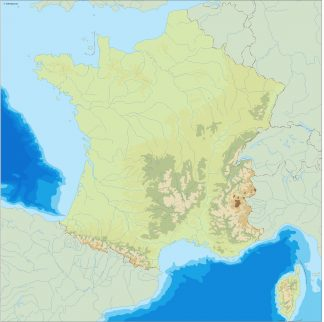 Country Map Of France.France Country Maps Vector Eps Download Our Digital Files