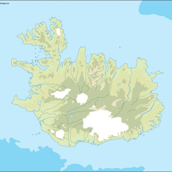Iceland Maps vector eps. Download our digital files
