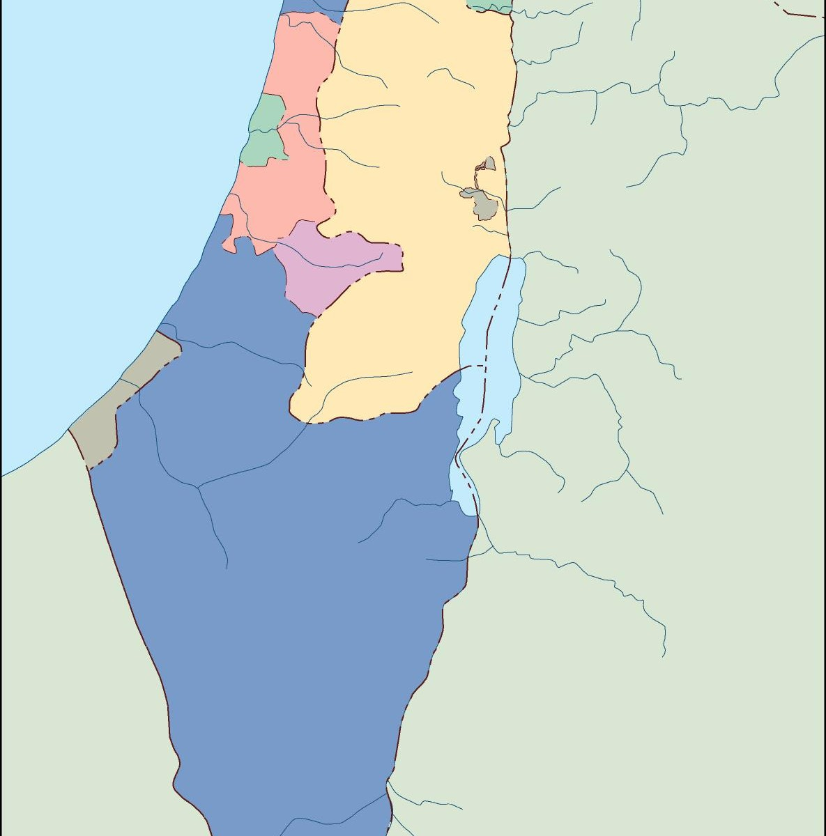 Israel blind map eps illustrator map a vector eps maps designed israel blind map gumiabroncs Gallery