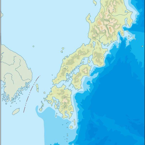 japan illustrator map