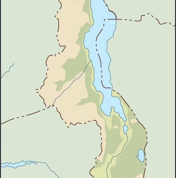 malawi illustrator map