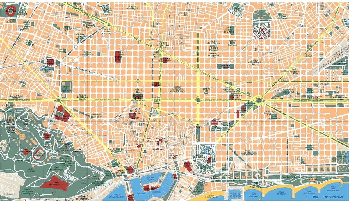 mapa barcelona eps