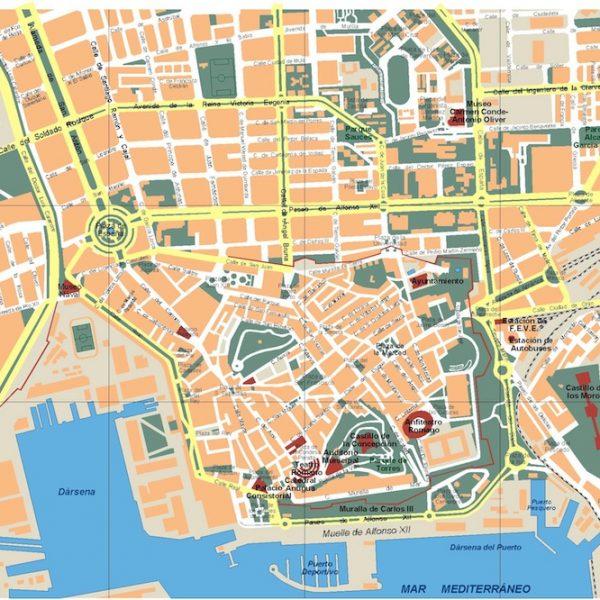 mapa cartagena