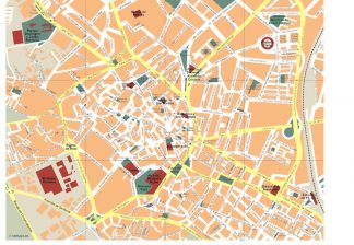 Cartina Jerez De La Frontera.Jerez De La Frontera Vector Map Eps Illustrator Map Vector World Maps