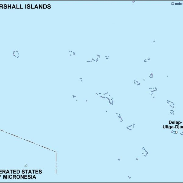 marshall islands political map