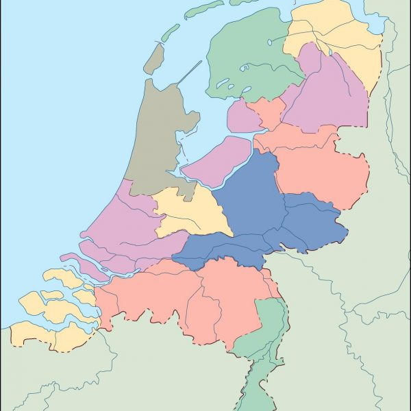 netherlands blind map