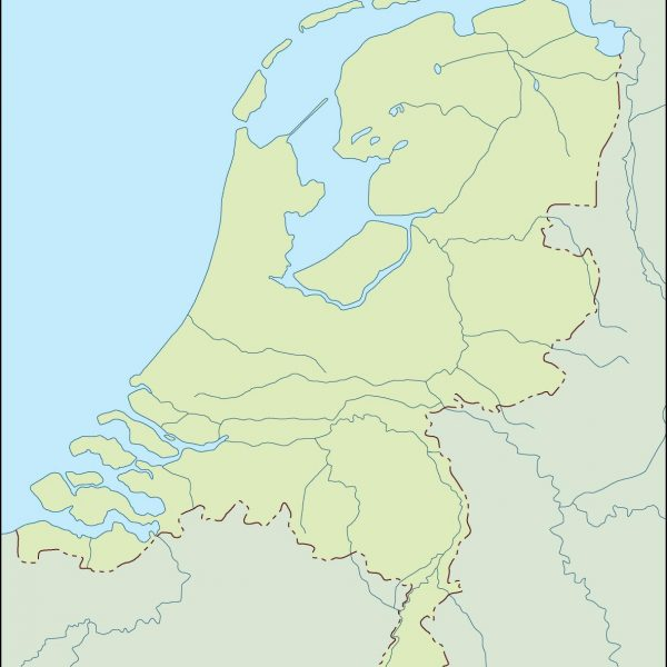 netherlands illustrator map